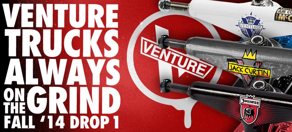 Venture Trucks Fall 2014 Drop 1