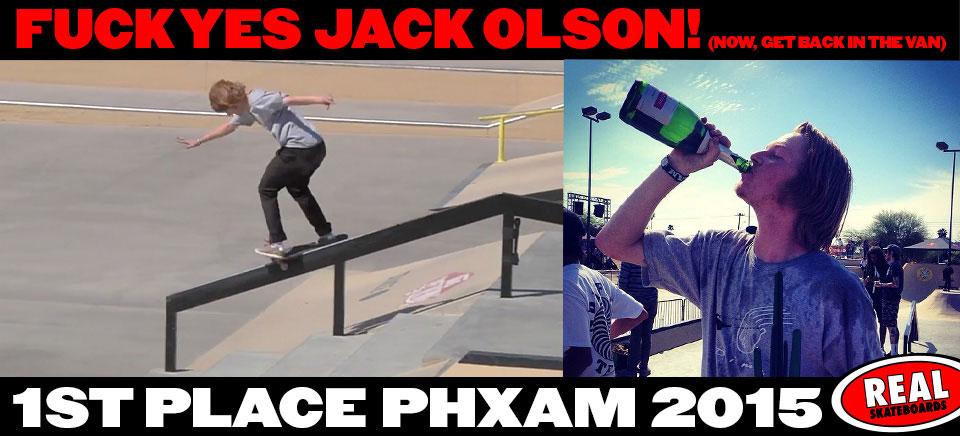 PHX Am 2015: Jack Olson's Winning Run