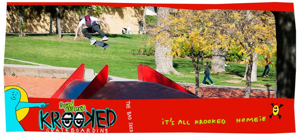 Krooked Skateboards!
