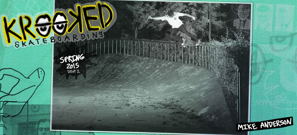 Krooked Skateboards Spring 2015 Drop 2!