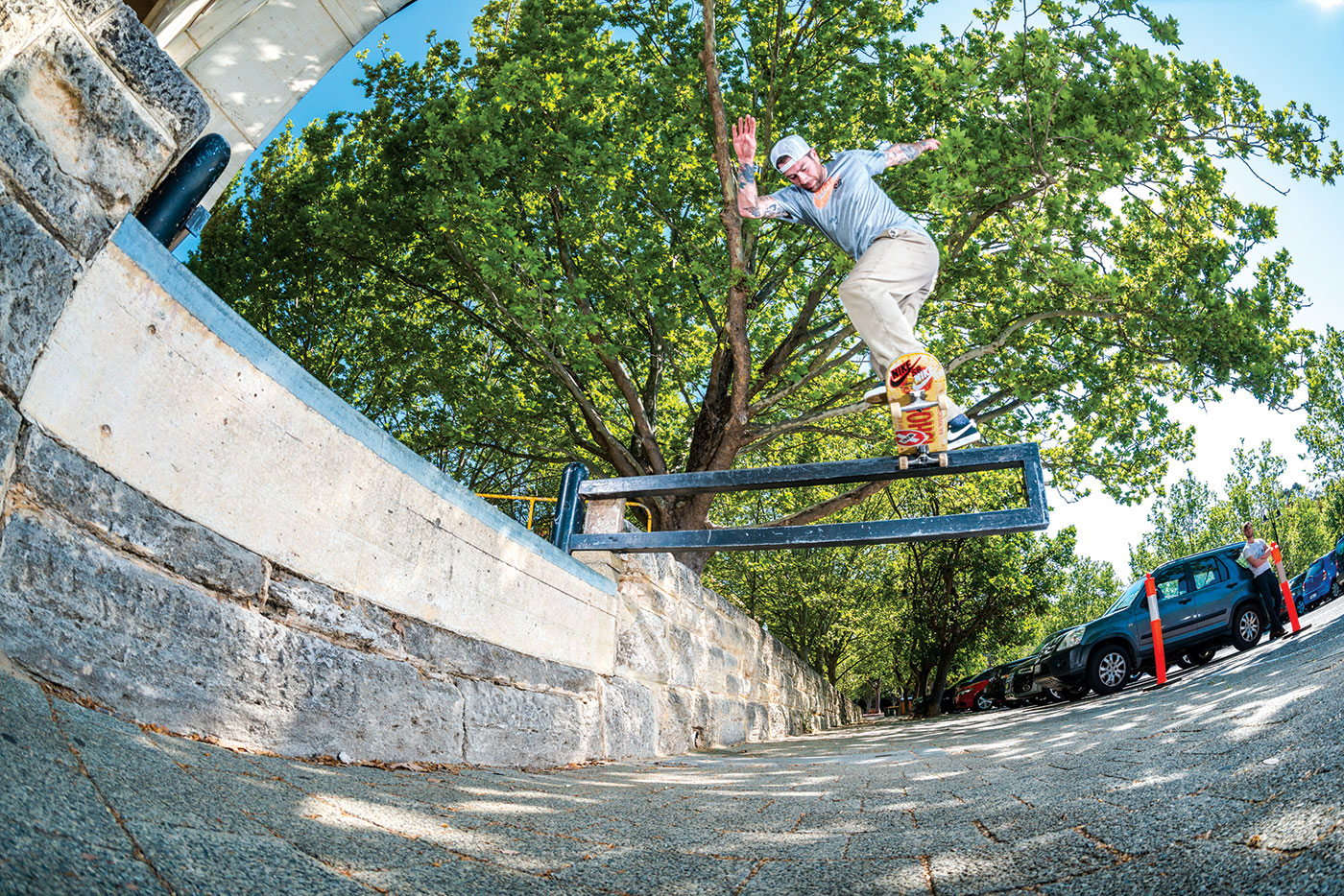 Switch backside tailslide, Perth