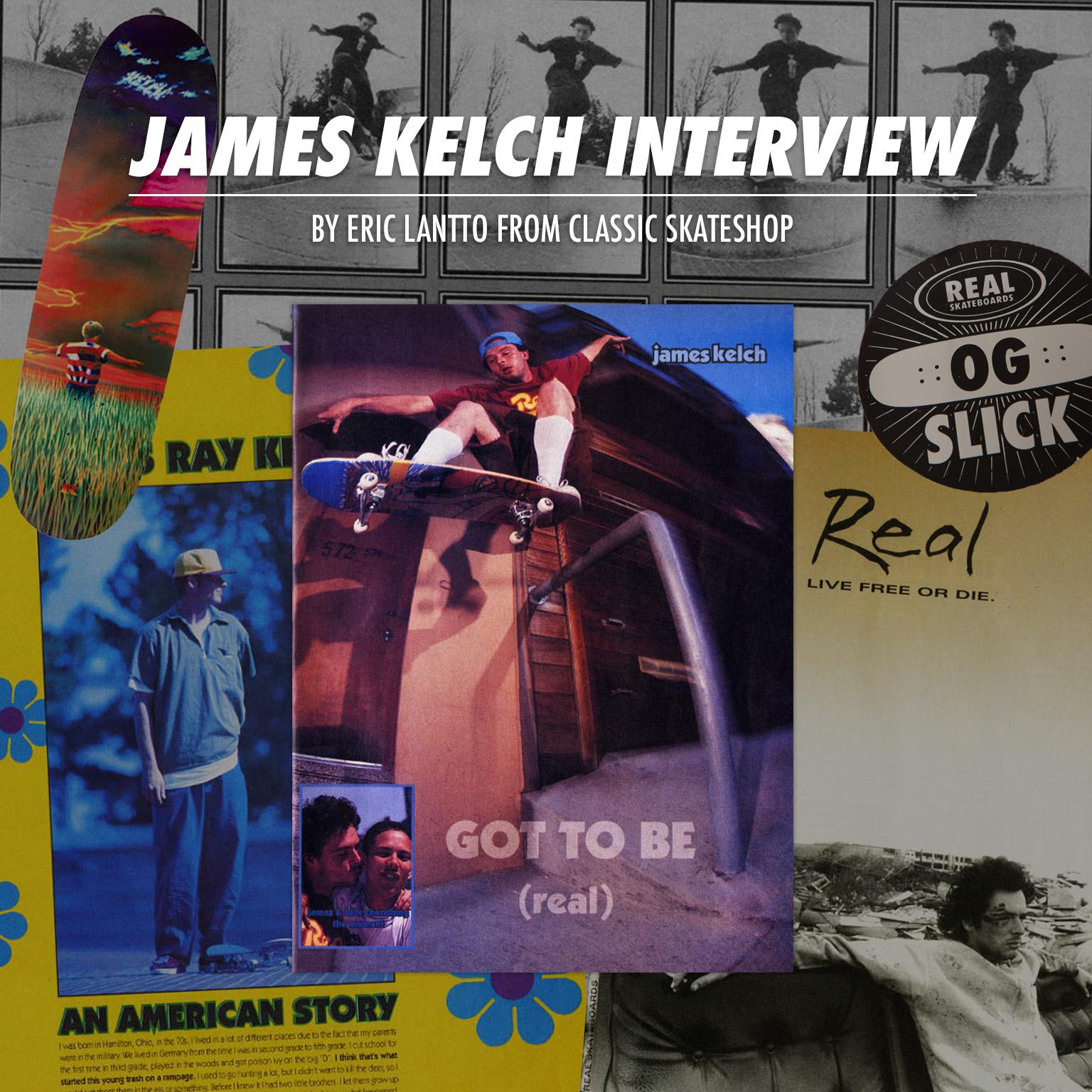 James Kelch 'Flyer' Interview DLXSF COM